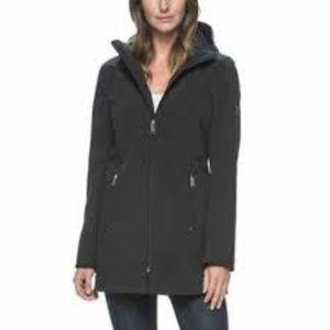 Marc New York Long Softshell Hooded Jacket New